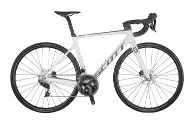 Scott Addict RC 40  Gloss Pearl White Grey