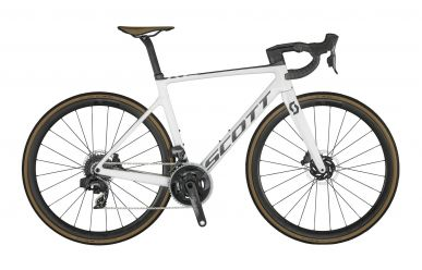 Scott Addict RC 10 Pearl White Black