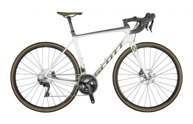 Scott Addict 20 Disc Pearl White Prism Komodo