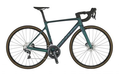 Scott Addict RC 30 Carbon Black Prism Green