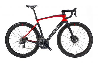 Wilier Cento10 SL Disc Shimano Ultegra Di2 Wilier Carbon NDR38 Wheels Black Red
