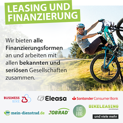 Finanzierung und Leasing: Biketime bietet euch alle Finanzierungsformen an und arbeitet mit allen bekannten und seriösen Gesellschaften zusammen.