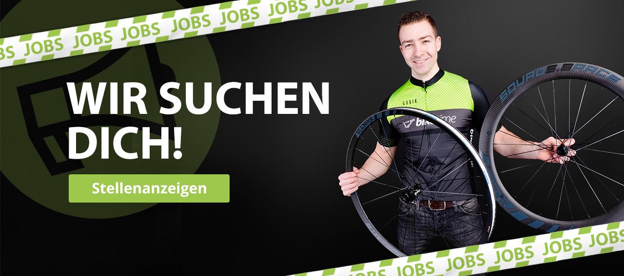 Wir suchen dich! Jobs bei Biketime in Hannover.