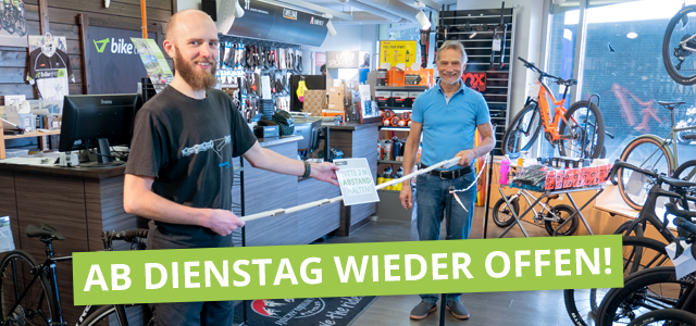 Wiedereröffnung bei biketime aus Hannover